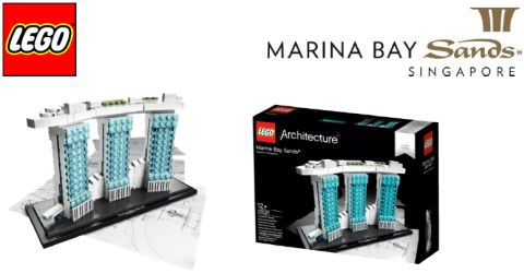 #21021 LEGO Architecture Marina Bay Sands Singapore