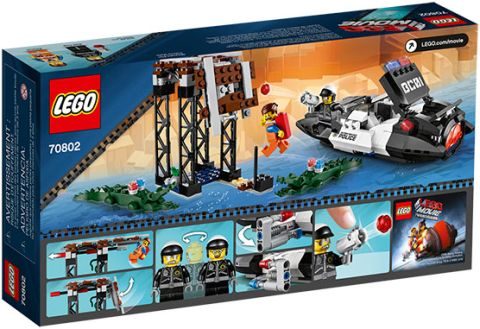 #70802 The LEGO Movie Back