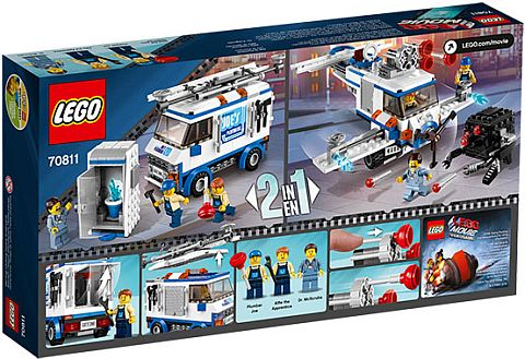 #70811 The LEGO Movie Flying Flusher Box