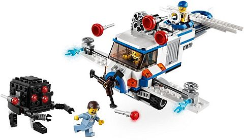 #70811 The LEGO Movie Flying Flusher Details