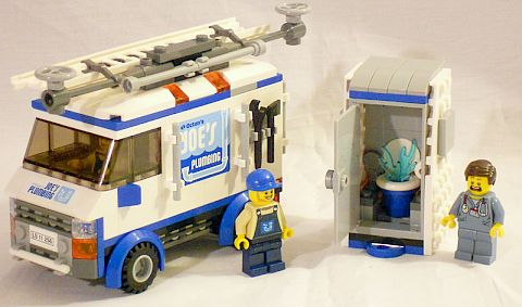 #70811 The LEGO Movie Flying Flusher Review Details