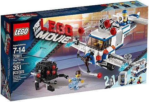 #70811 The LEGO Movie Flying Flusher Review