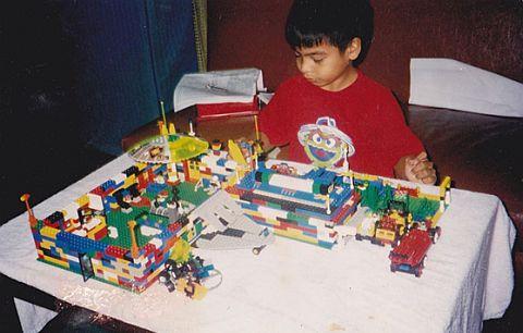 Featured LEGO Fan John Raphael Guzman Childhood LEGO