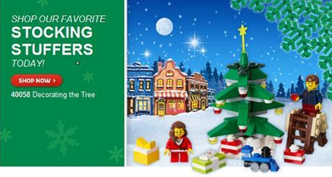 LEGO Christmas Stocking Stuffers