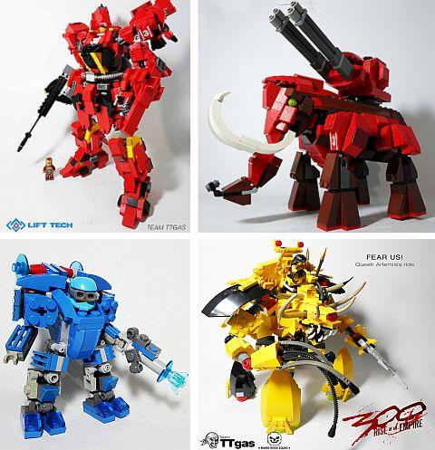 LEGO Creations by John Raphael Guzman - Mechs