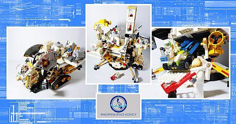 LEGO Creations by John Raphael Guzman - Space Agency