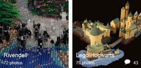 LEGO Gallery by Alice Flinch
