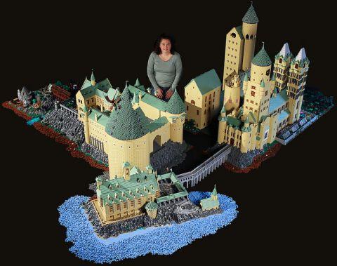 LEGO Hogwarts by Alice Finch