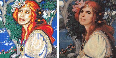 LEGO Mosaic by Janey Gunning