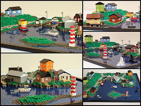 LEGO Micro City by True Dimensions