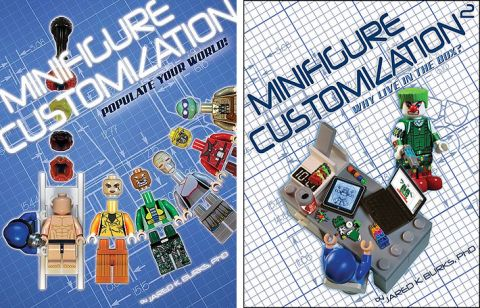 LEGO Minifigure Customization Books