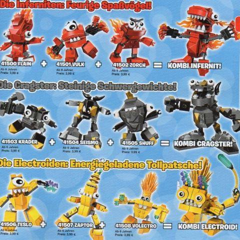 LEGO Mixels Combo Models