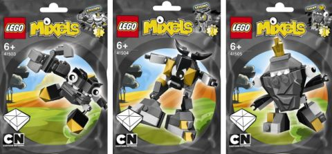LEGO Mixels Gray Group