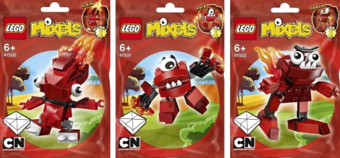 LEGO Mixels Red Group