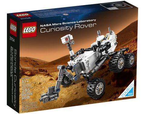 LEGO NASA Curiosity Rover