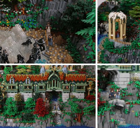 LEGO Rivendell by Alice Finch Details