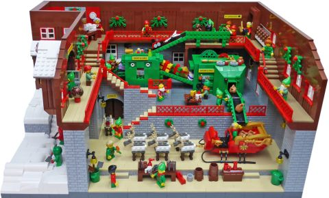 LEGO Santa's Workshop by Gary Davis