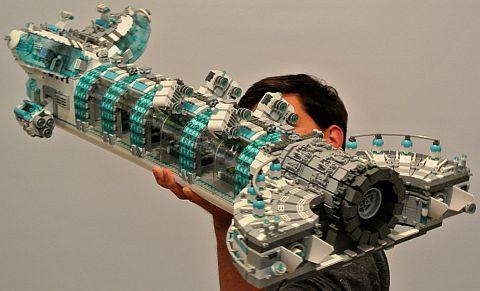 LEGO Spaceship by disco86