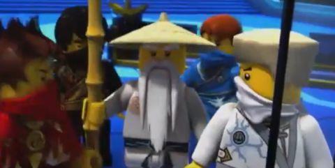 Ninjago 2014 Sneak Peek Sensei Wu