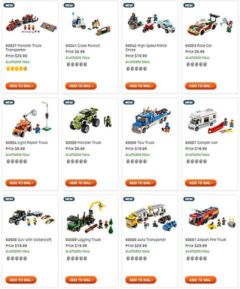 Shop for 2014 LEGO City Sets