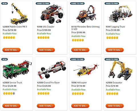 Shop for LEGO Technic
