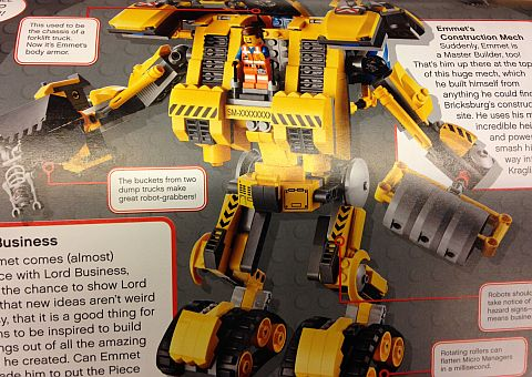 The LEGO Movie Construction Mech