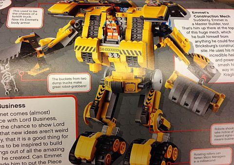 The LEGO Movie Construction Mech