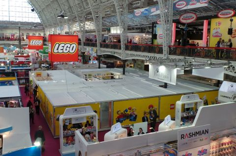 2014 LEGO Booth - London Toy Fair
