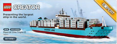 2014 LEGO Sets Maersk Ship