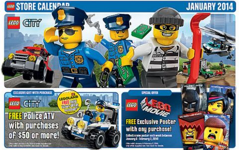 2014 LEGO Sets & Promotions