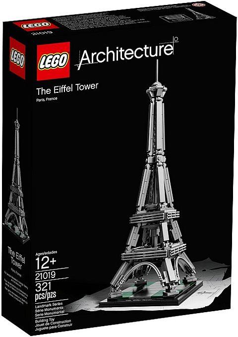 #21019 LEGO Architecture Eiffel Tower Box