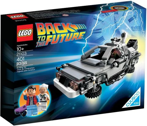 #21103 LEGO DeLorean Time Machine Review