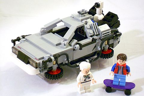 #21103 LEGO DeLorean Time Machine Version 2