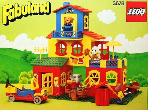 #3678 LEGO Fabuland