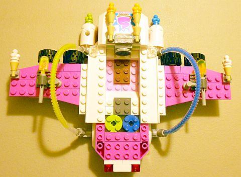 #70804 The LEGO Movie Ice Cream Machine Interior