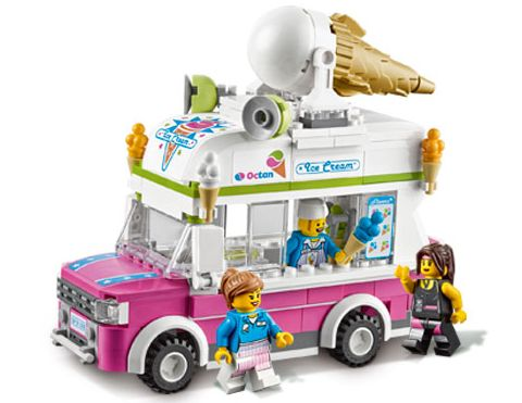 #70804 The LEGO Movie Ice Cream Truck Details