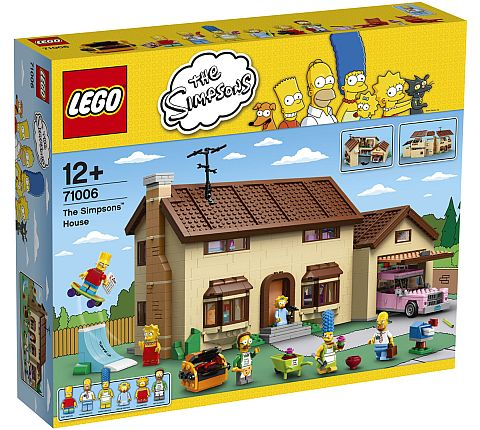 #71006 LEGO The Simpsons House Available Now