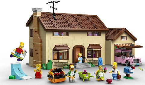 #71006 LEGO The Simpsons House Details