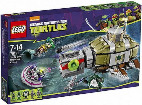 #79121 LEGO Teenage Mutant Ninja Turtles