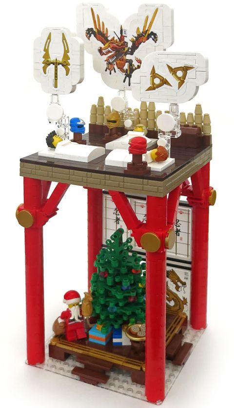 LEGO Christmas Ninja Style by Nannan