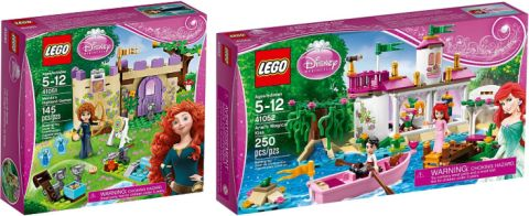 LEGO Disney Princess Sets Review
