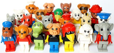 LEGO Fabuland Animals