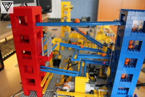 LEGO Great Ball Contraption Side View