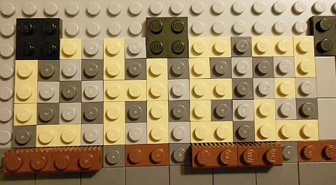 LEGO Parisian Restaurant Details