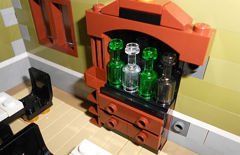 LEGO Parisian Restaurant Furniture