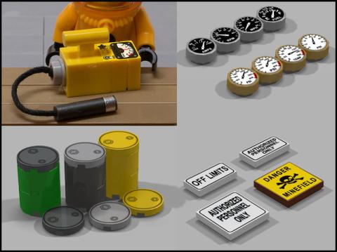 LEGO Sticker Ideas by CooperWork