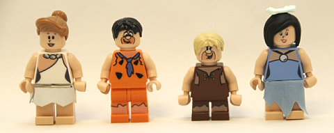 LEGO The Flintstones Characters
