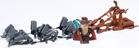 LEGO The Hobbit Radagast's Sled