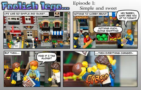 LEGO Web-Comic by Foolish LEGO