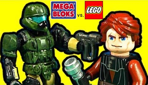 LEGO vs. Mega Bloks Comparison
